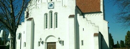 Åbyhøj Kirke is one of Tempat yang Disukai Margrethe.