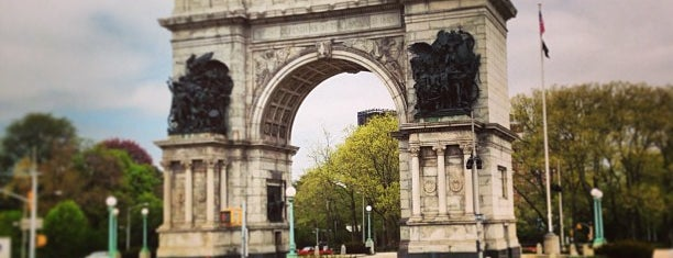 Grand Army Plaza is one of USA NYC BK Park Slope.