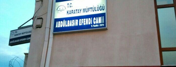 Abdülbasir Efendi Camii is one of Konya Karatay Mescit ve Camileri.