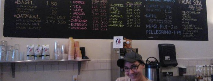Philly's Cafe is one of the café list.