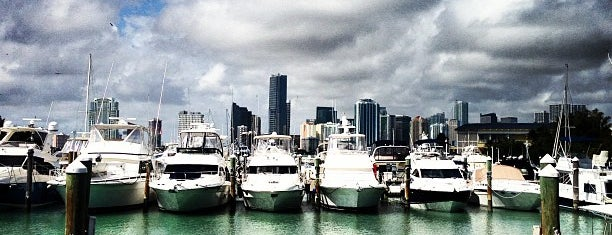 Rickenbacker Marina is one of Miami.