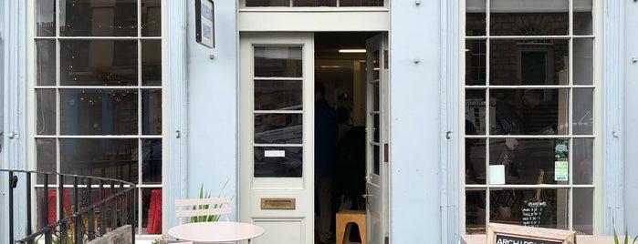 Archipelago Bakery is one of The Dog's Bollocks' Auld Reekie (Edinburgh).