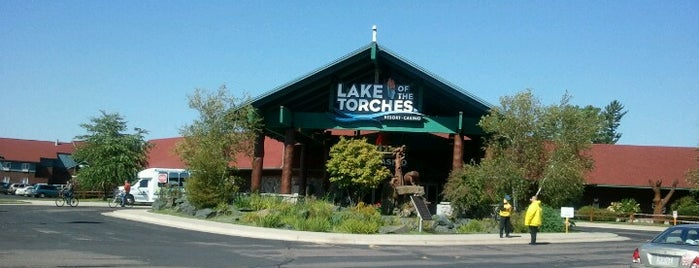 Lake of the Torches Casino is one of Northern Wisconsin Getaway.