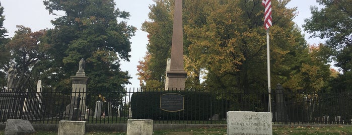 Millard Fillmore's Grave is one of Presidents 12/8/18.