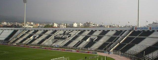 Toumba Stadium is one of Central Macedonia.