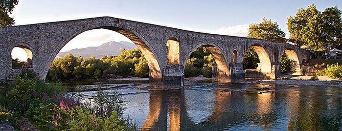 Bridge of Arta is one of Amazing Epirus.