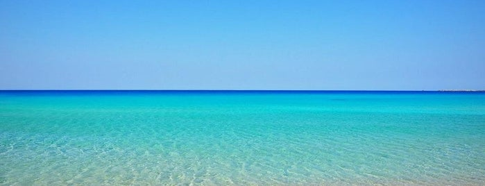 Falasarna Beach is one of Crete.