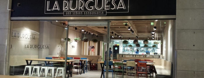 La Burguesa is one of Hamburgueserías.