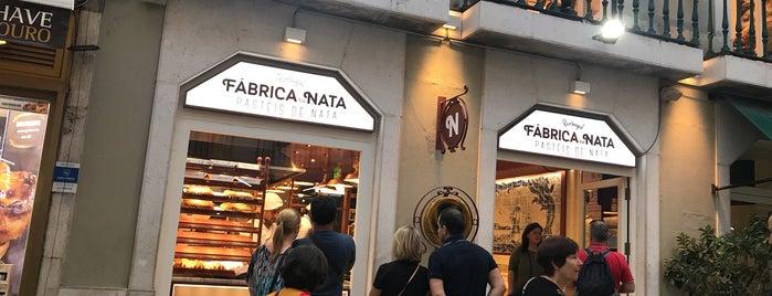 Fabrica da Nata - Rua Augusta is one of lisbon.