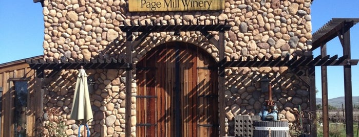 Page Mill Winery is one of For winos!.