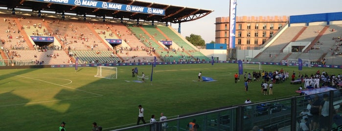 "Mapei Stadium - ""Città del Tricolore"" is one of Part 3~International Sporting Venues...."
