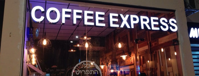 coffee express is one of Lugares favoritos de orly.