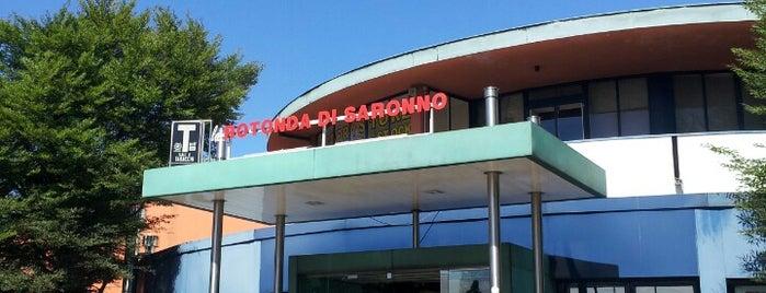 La Rotonda di Saronno is one of Posti che sono piaciuti a Mik.