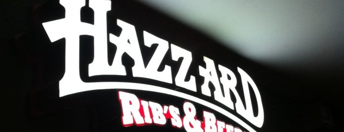 """Hazzard"" Ribs&Beers is one of Lieux sauvegardés par Alenis."