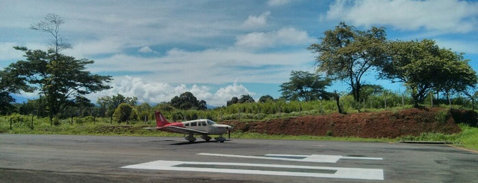 Quepos Airport is one of Visited Airports.