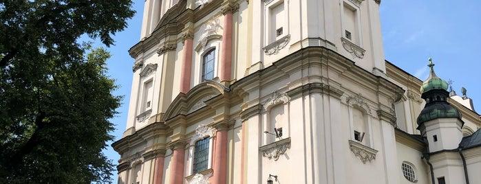 Bazylika Mniejsza i Klasztor na Skałce is one of Lieux qui ont plu à Emma.