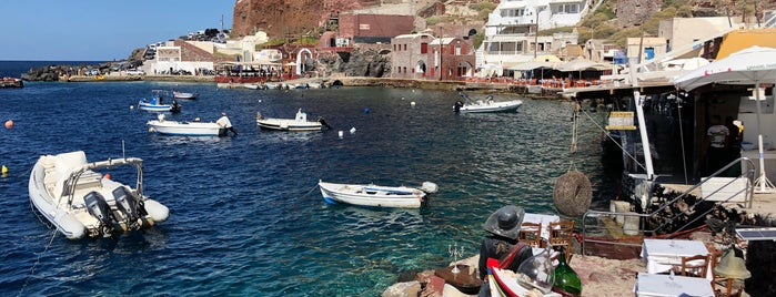 Ammoudi Bay is one of Santorini.