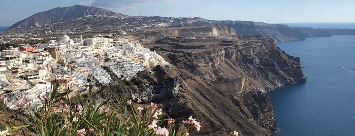 Volkan on the Rocks is one of Santorini.