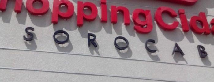 Shopping Cidade Sorocaba is one of Tempat yang Disukai Evellyn.
