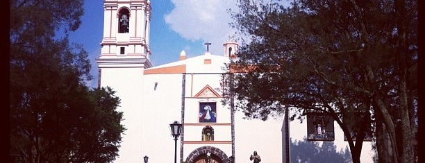 Iglesia Tenango Del Aire is one of Lugares favoritos de Maria.