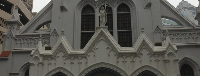 Catholic Cathedral of the Immaculate Conception is one of Hong Kong Experience.