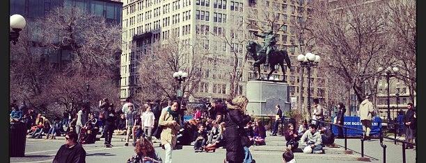 Union Square Park is one of Manhattan Favorites.