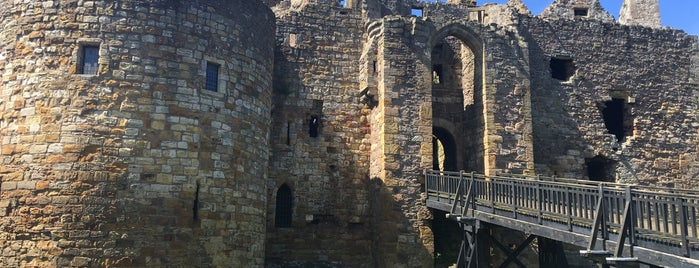 Dirleton Castle is one of Part 1 - Attractions in Great Britain.