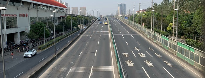 Bao'an Highway Metro Station is one of Metro Shanghai.