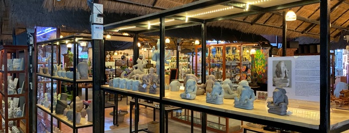 AHA Angkor Handicraft Association is one of BKK - REP - HKT.