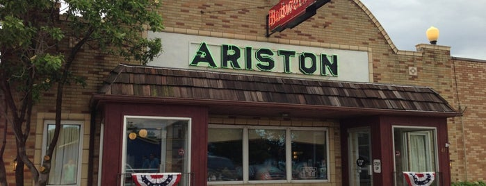 The Ariston Cafe is one of Historic Route 66.