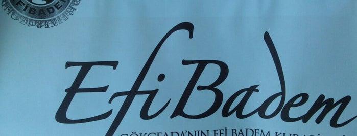 Efi Badem & Meydani is one of Tatlı, Dondurma ve Fırın.