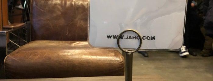 Jaho Coffee Roaster & Wine Bar is one of Locais curtidos por Gizem.