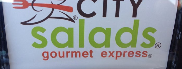 City Salads Gourmet Express is one of where ever I may roam....