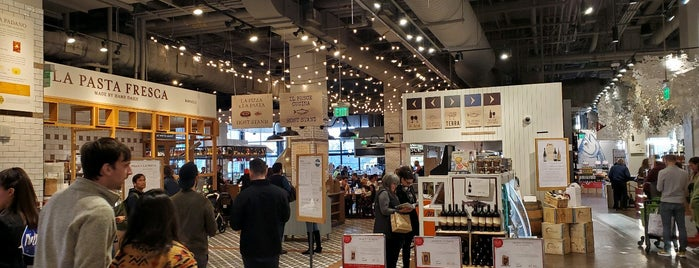 Eataly is one of Claire + Jordy Travels.