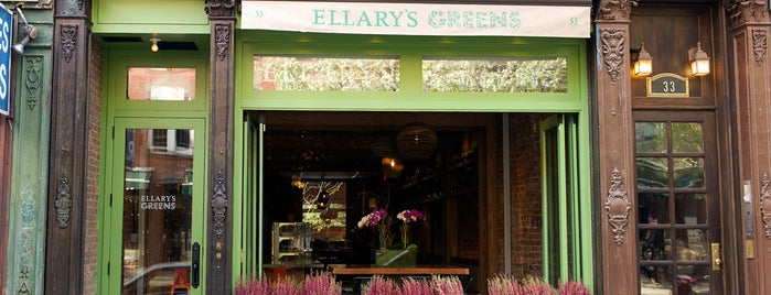 Ellary's Greens is one of MileagePlus Dining.