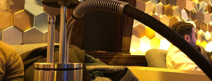Aromania Hookah Coffee Lounge is one of Posti salvati di Erdem.