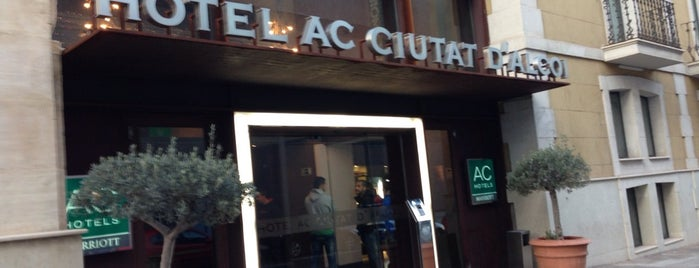 AC Hotel Ciutat D'Alcoi is one of Ali Canさんのお気に入りスポット.