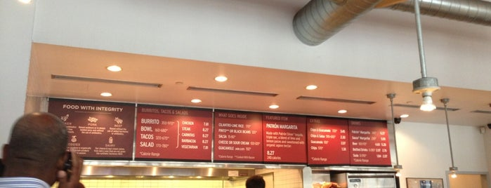 Chipotle Mexican Grill is one of FiDi Lunches.