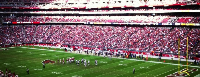 State Farm Stadium is one of The Most Popular Football Stadiums in the US.