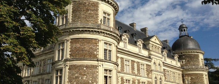 Château de Serrant is one of Châteaux de France.