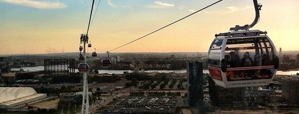 Emirates Air Line is one of Breathtaking Views of London.
