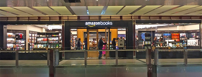 Amazon Books is one of NYC Best Shops.
