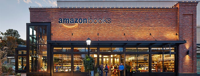 Amazon Books is one of Seattle Summer 16.