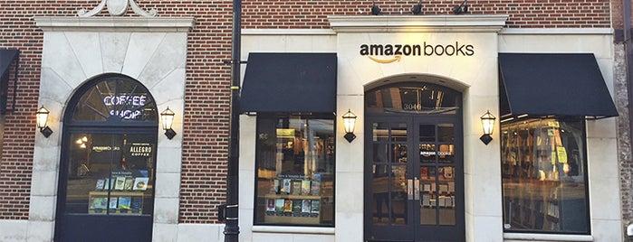 Amazon Books is one of Vanessa'nın Beğendiği Mekanlar.