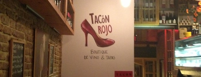 Tacón Rojo is one of Vinos en Barcelona.