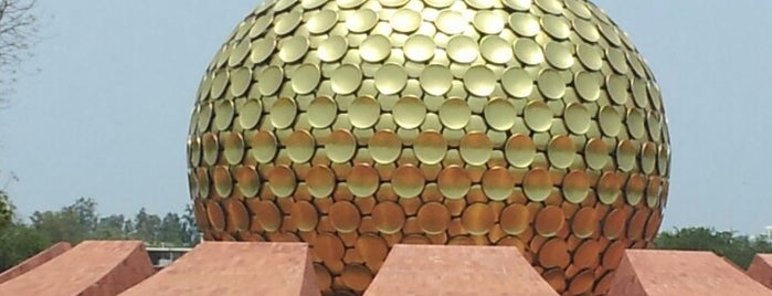 Matrimandir is one of Favourites.