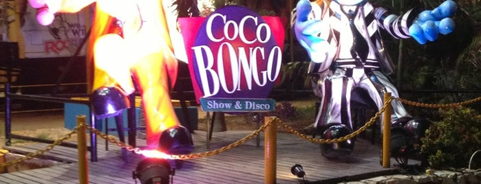 Coco Bongo Bar & Boutique is one of Cancun.