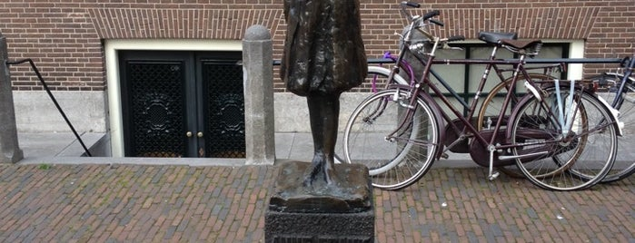 Casa de Anne Frank is one of Amsterdam.
