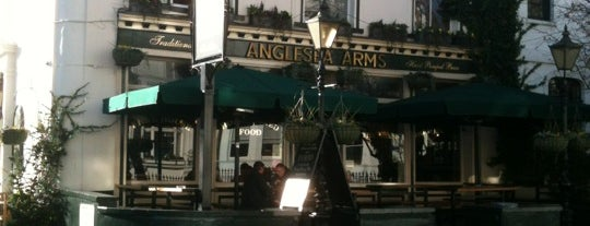 The Anglesea Arms is one of London Pubs.
