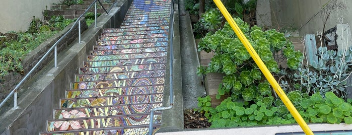 Hidden Garden Mosaic Steps is one of Sightseeings.